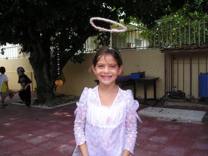 Jayda als engeltje