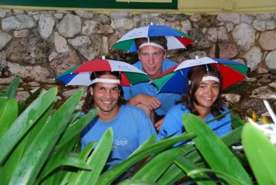 Miguel, Robert en Cheri