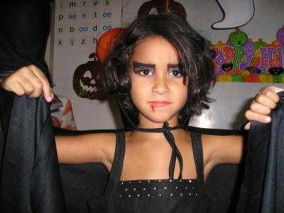 Nikka als vampier