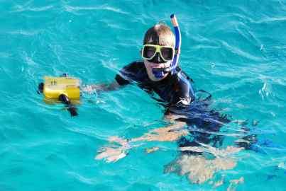 Onderwatercameraman Robert