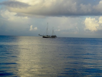 Boottocht naar Klein Curaçao