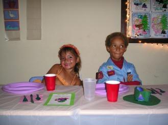Kerstdiner, Ashley en Silvan
