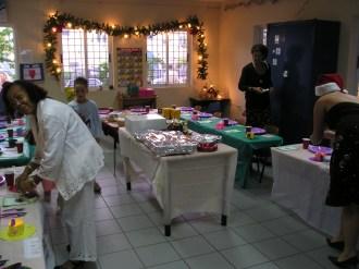 Kerstdiner in de klas