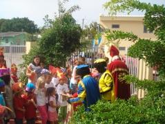 Sinterklaas komt ook op Curaçao