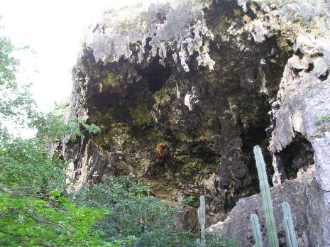 Hato grotten, indianenpad