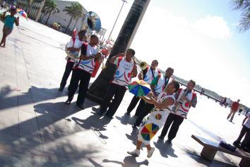 Recife, oefenen voor carnaval