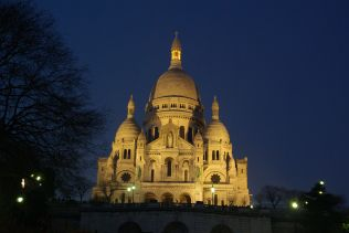 Sacré coeur by night