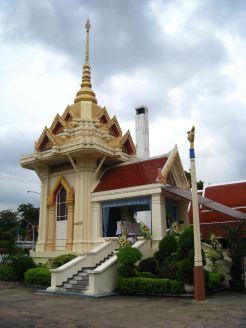 Begrafenis in een tempel