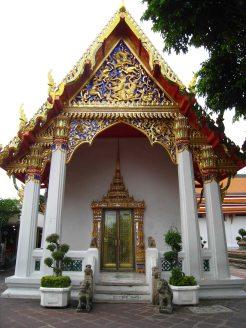 Tempeltje op tempelcomplex