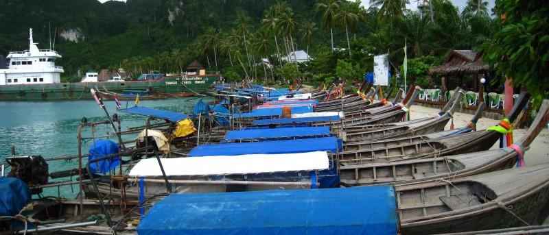 Bootjes op Koh Phi Phi