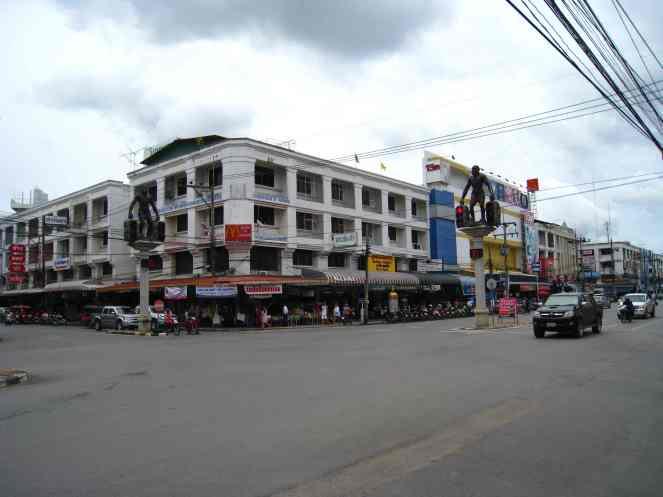 Centrum van Krabi