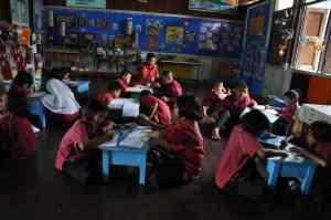 Klas van islamitische school