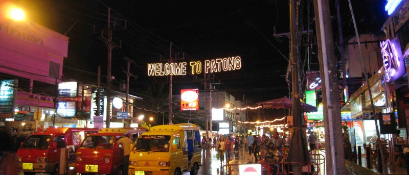 Patong, (seks)toeristische centrum