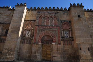 Buitenmuur van de Mezquita
