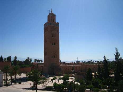 Koutoubia moskee