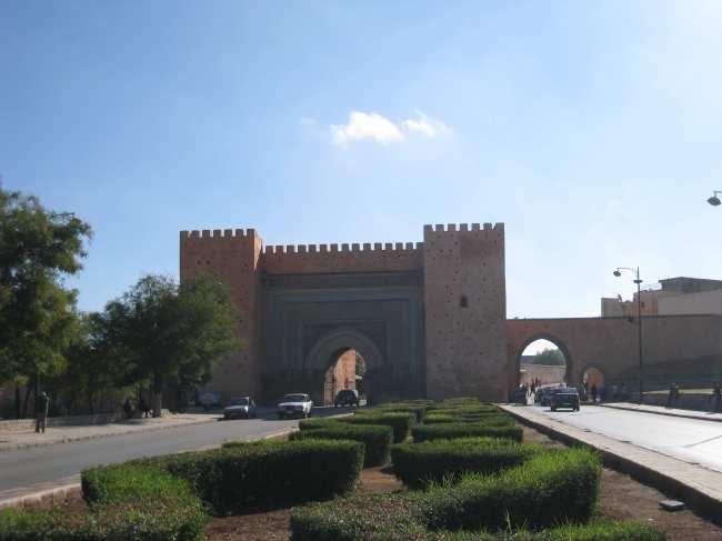 De stadspoorten van Meknès
