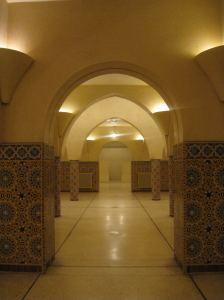 Hamam in de moskee