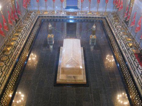 Mausoleum, het graf van Hassan