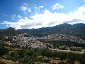 Moulay Idriss, dorpje bij Volubilis