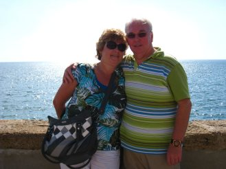 Pa en ma, 40 jaar getrouwd