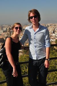 Uitzicht op Málaga