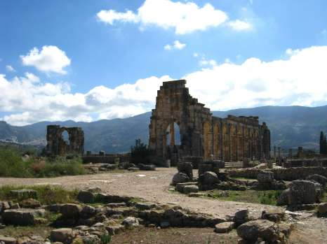 Volubilis, de basilica