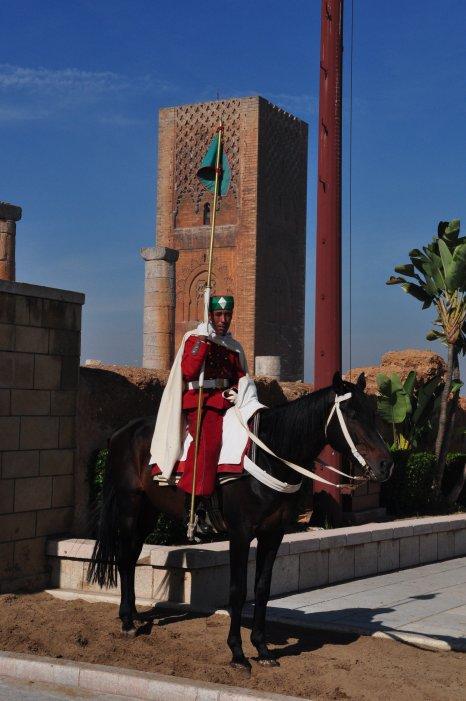 Wachter voor de Hassan ll toren