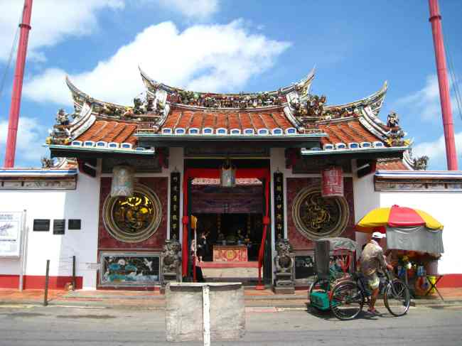 Cheng Hoon Teng tempel in Chinatown