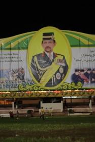 De sultan op elk gebouw