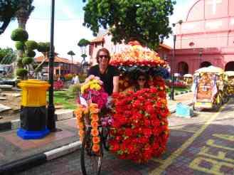 In de trishaw
