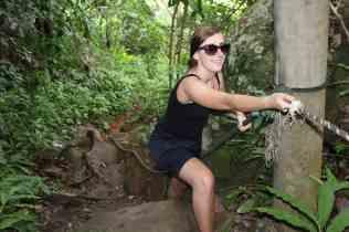 Jungletrekking naar Panuba bay