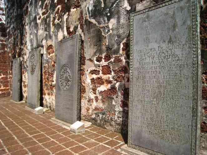 Nederlandse koopmannen begraven in St. Pauls Church