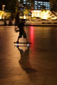 Skateboardertje