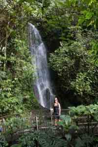 1e km, waterval