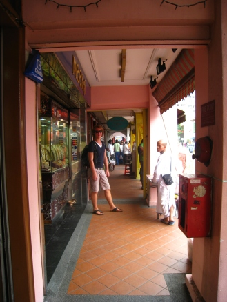 Robert in Little India