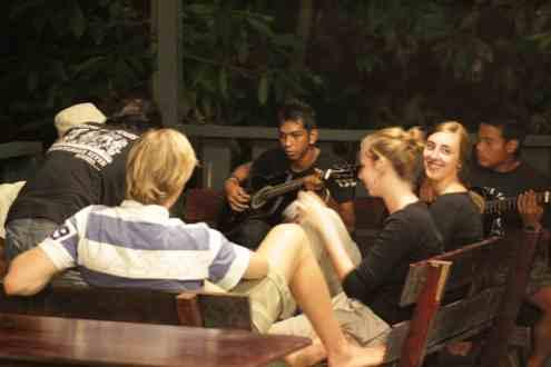 Liedjes zingen met de staff