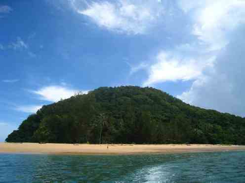 Schildpaddeneiland Satang Island