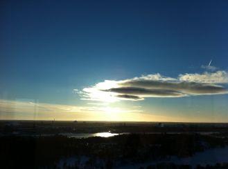 Uitzicht vanaf Kaknästornet