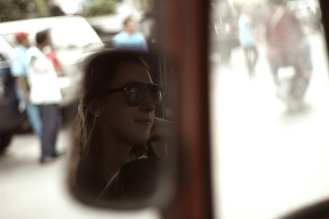 In de tuktuk