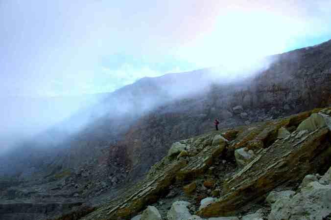 Krater van Kawah Ijen