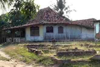 Oud typisch Nederlands huis in Bekasi