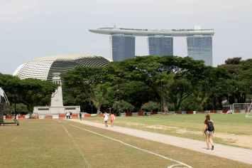 Singapore, Colonial district en Marina Bay