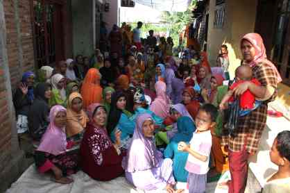 Bekasi, wedding party