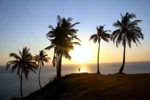 Zonsondergang in Senggigi