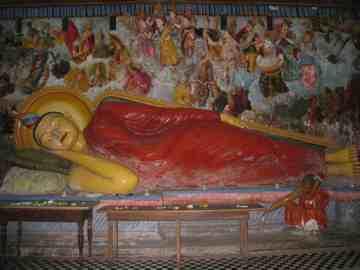 Laatste moment van Buddha, laatste moment van onze vakantie