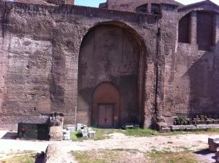 Muur van thermencomplex van Diocletianus