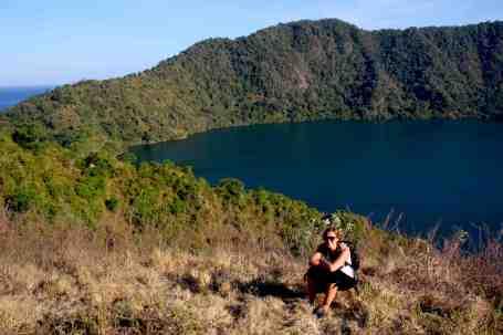 Kratermeer op Satonda island