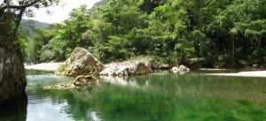 Yumurí, natural swimming pool