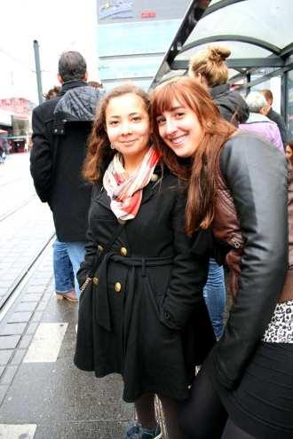 Alejandra en ik