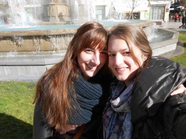 Celine en ik